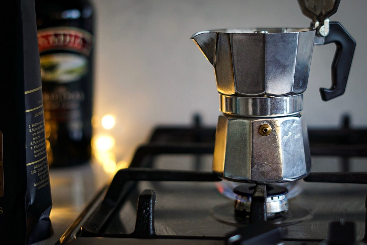 TK Maxx Italian caffettiera moka pot vanilla coffee and baileys