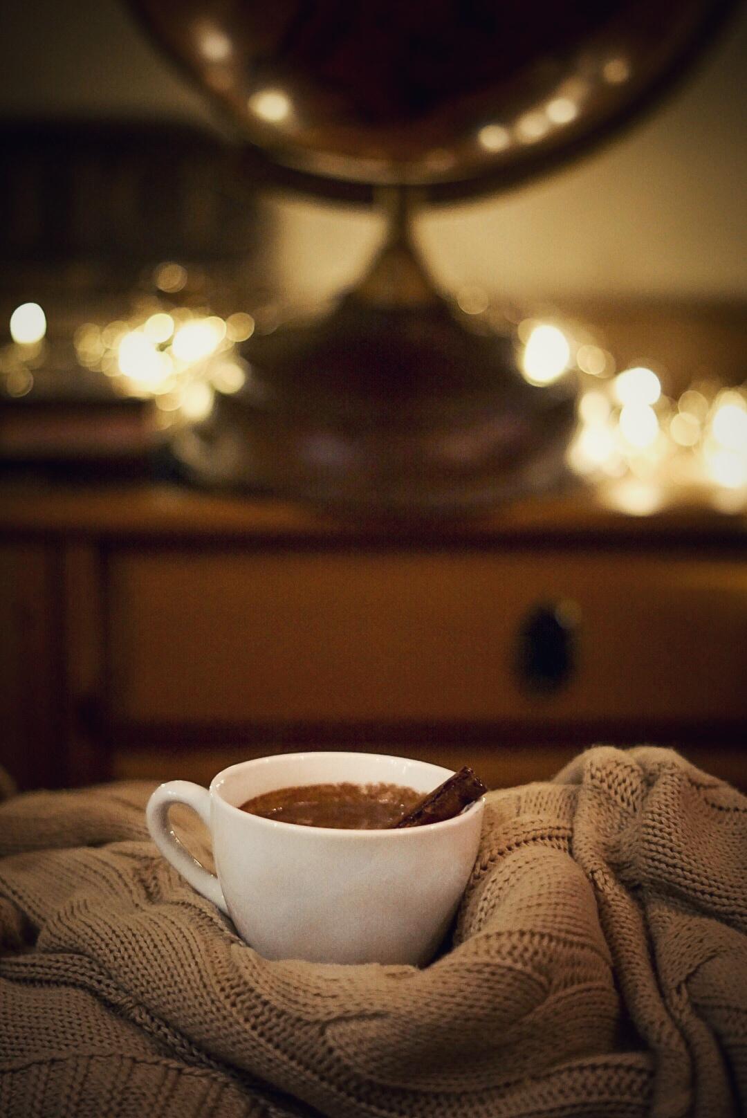 TK Maxx homeware red wine hot chocolate cosy