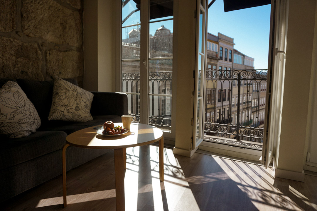 Apartment interior Porto