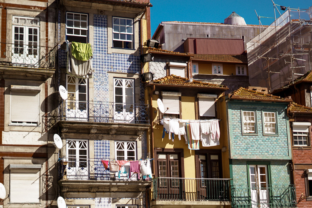Porto city guide typical Portuguese street