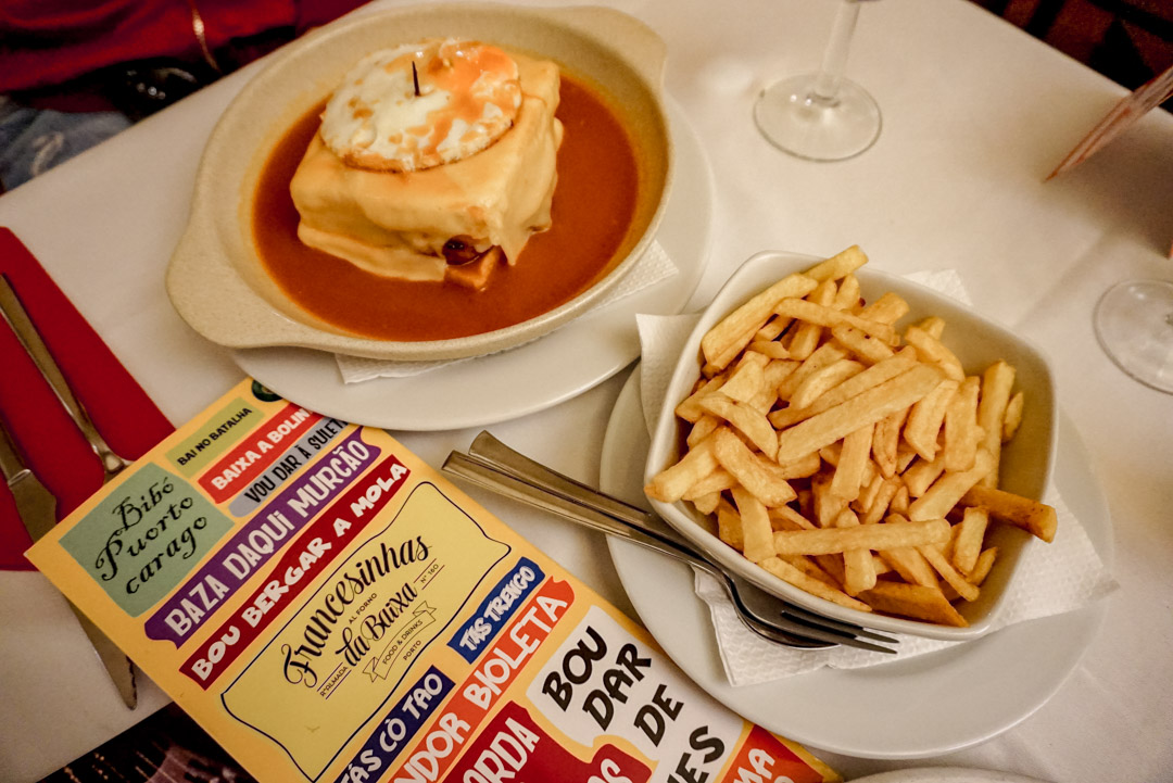 Porto city guide Francesinha
