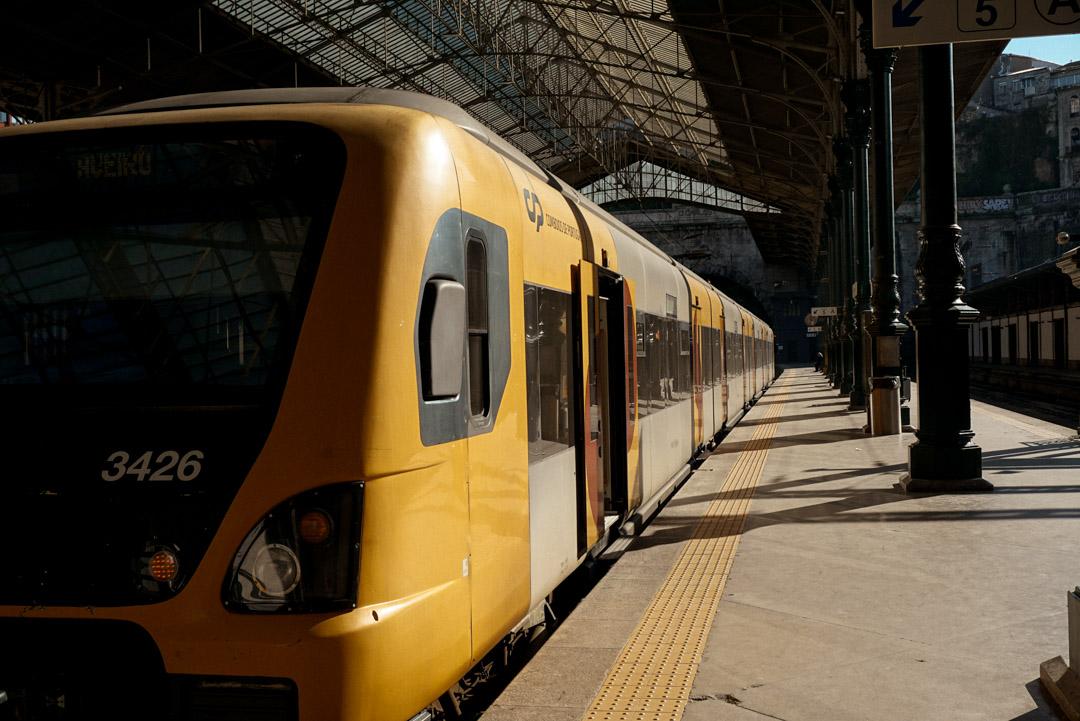 Porto city guide train station