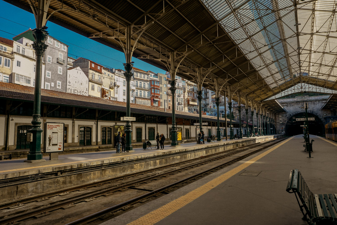 Campanha train station in Porto