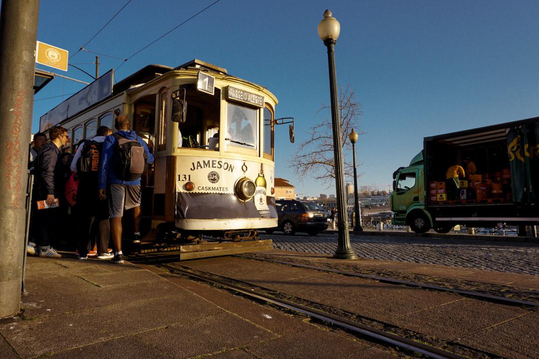 Porto city guide tram