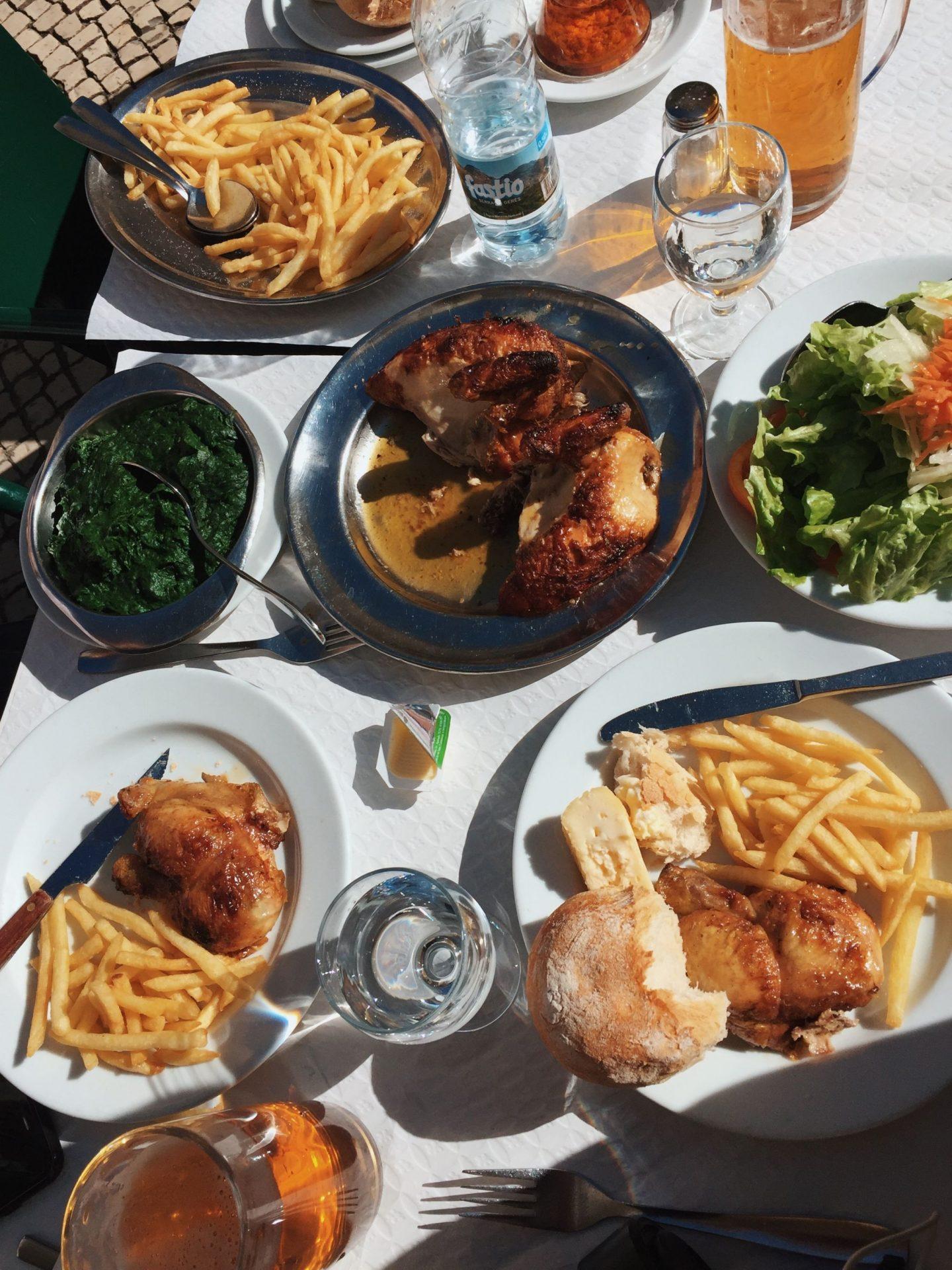 Bonjardim chicken Lisbon