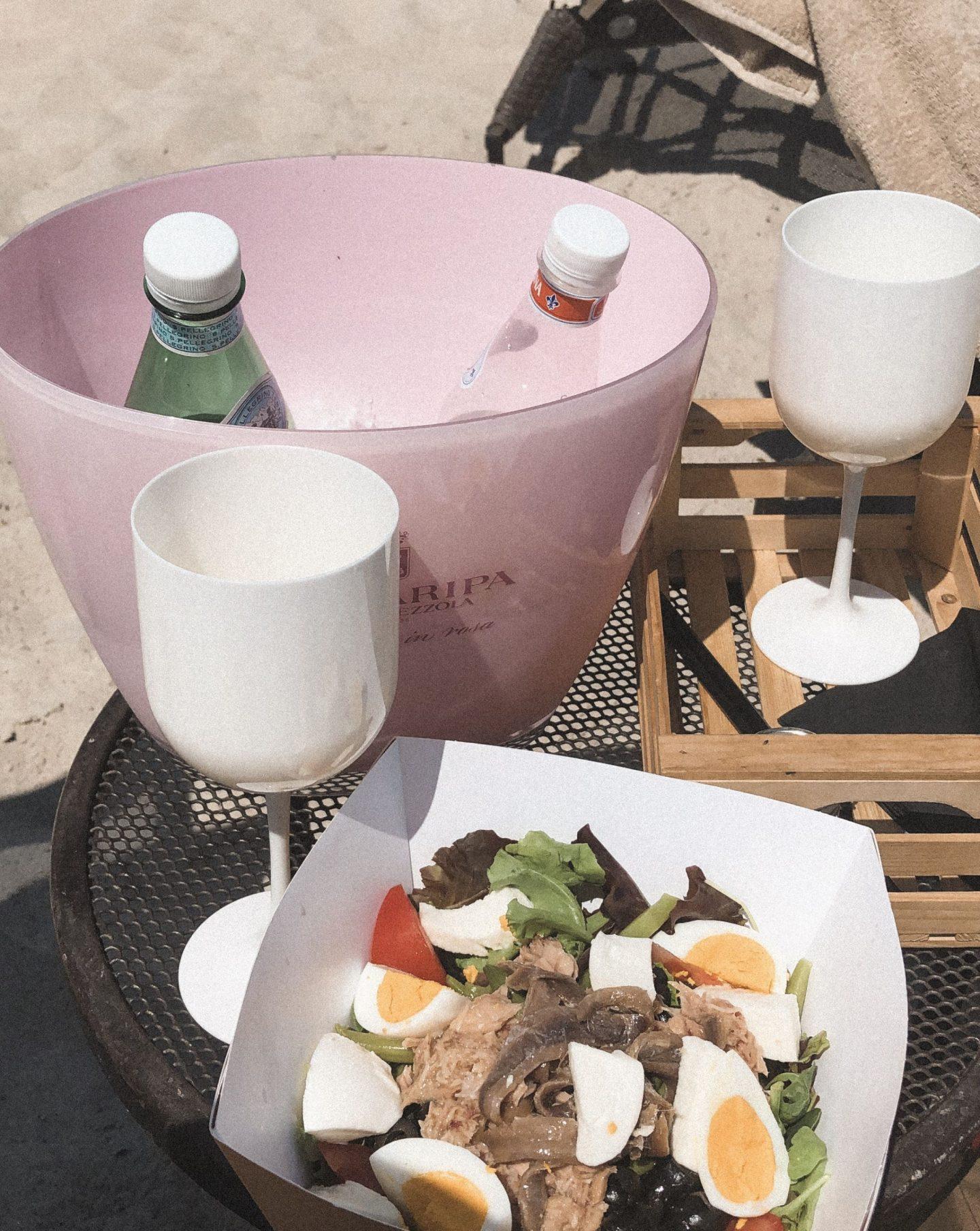 Coco Beach Club Lake Garda lunch