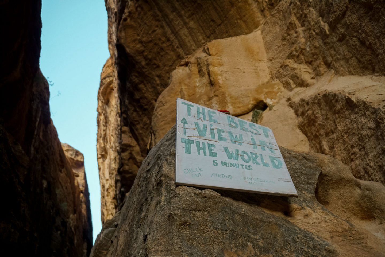 little petra jordan gadventures trip