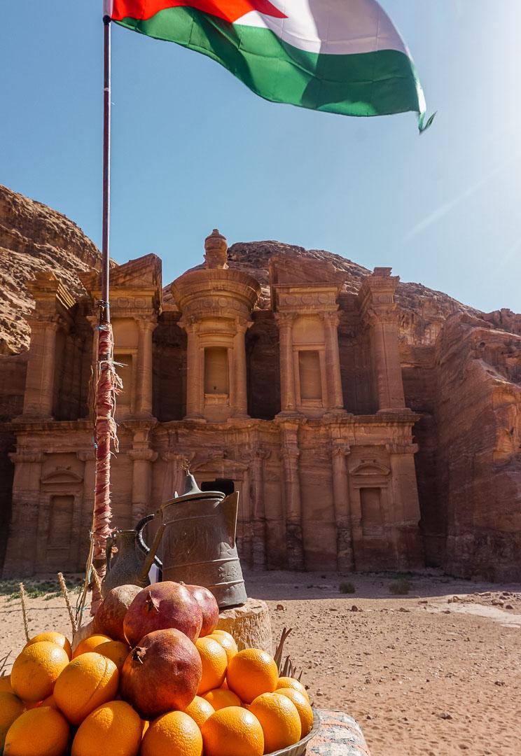 monastery petra jordan gadventures trip