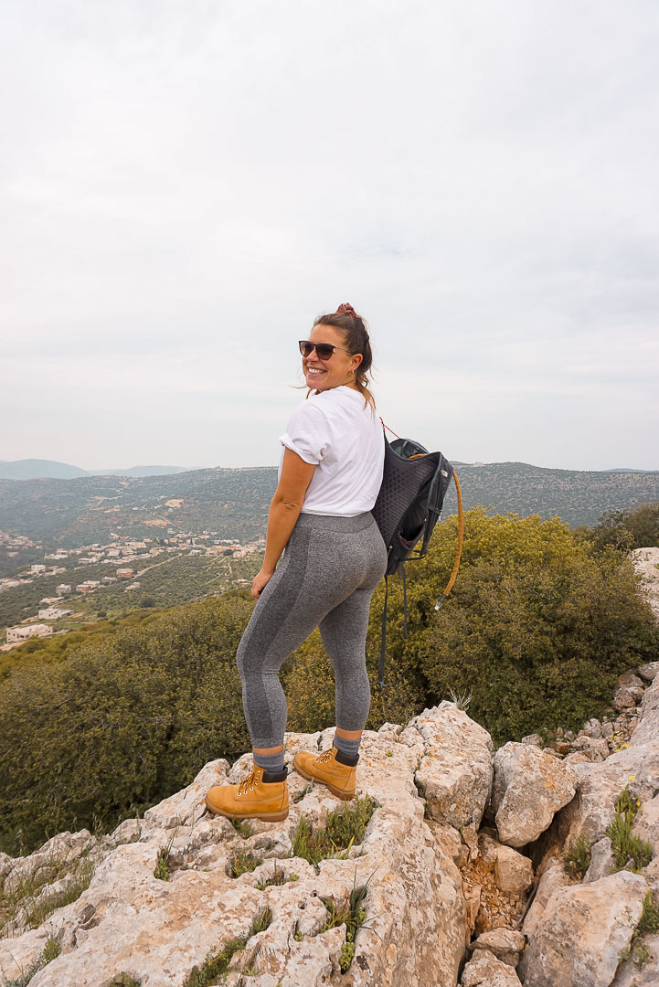 ajloun nature reserve trek