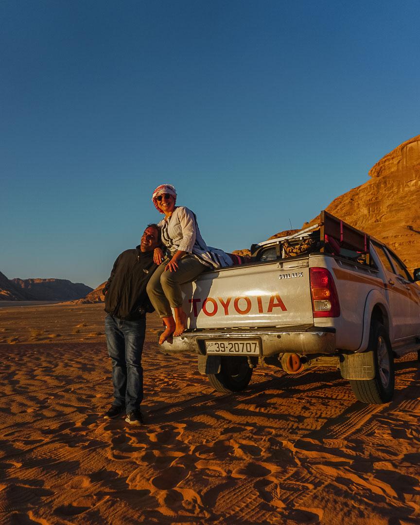 hakam ceo guide gadventures 4x4 tour wadi rum desert jordan