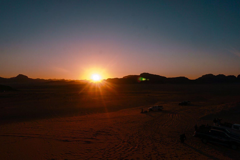 sunset gadventures 4x4 tour wadi rum desert jordan