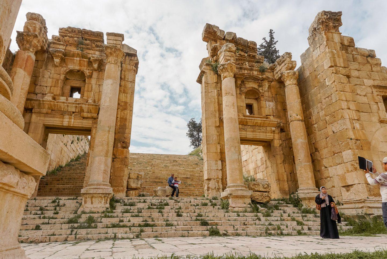 jerash roman ruins jordan