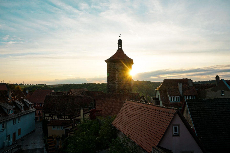 Rothenberg ob der tauber town walls walk