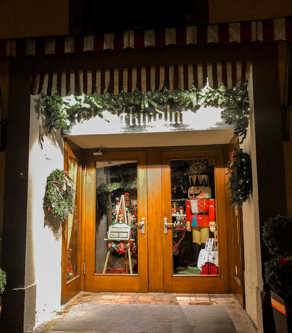 Rothenberg ob der tauber Christmas shop