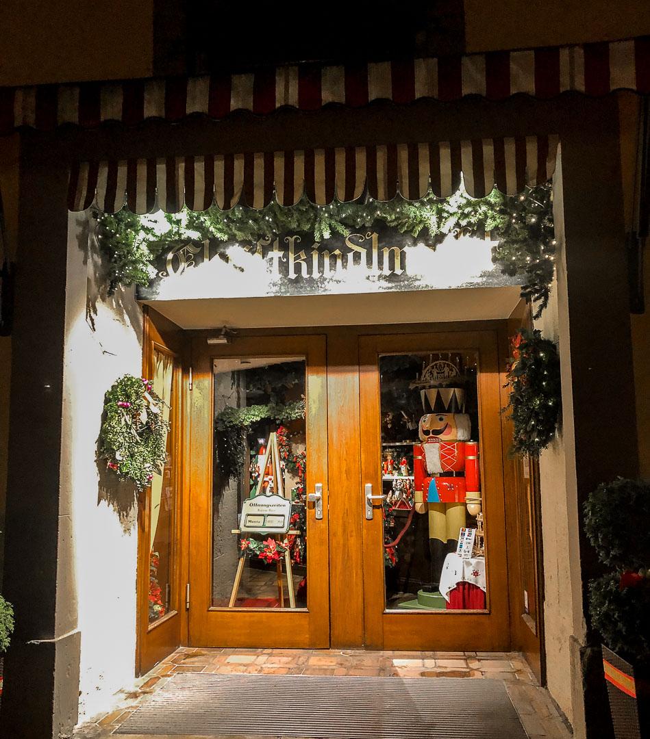 Rothenberg ob der tauber Christmas shop