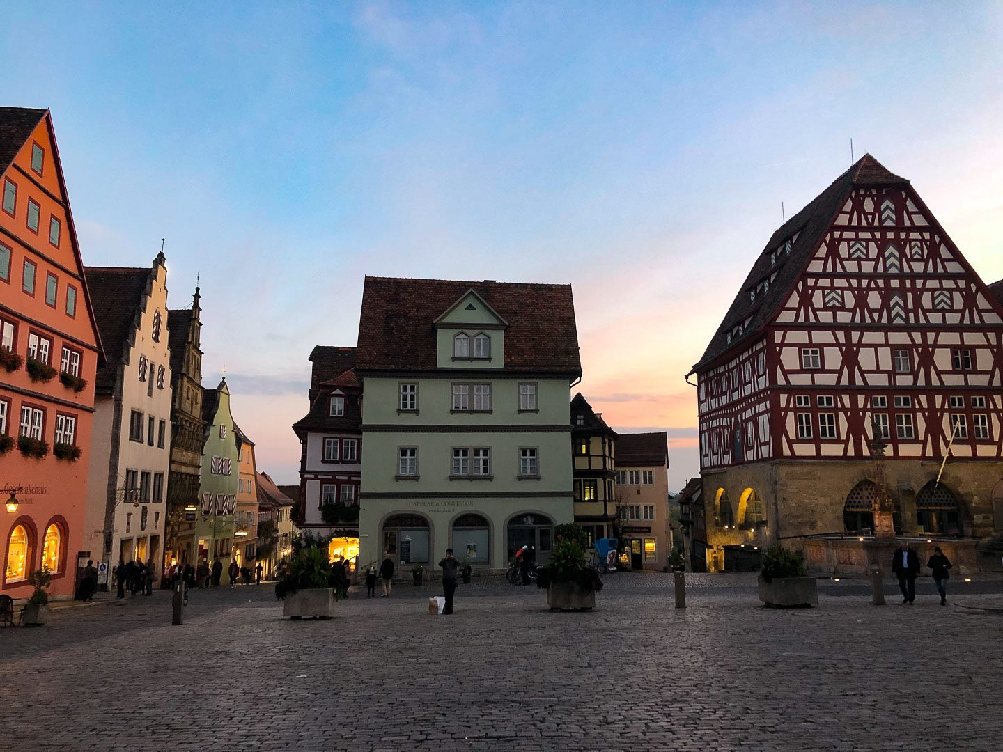Rothenberg ob der tauber main square