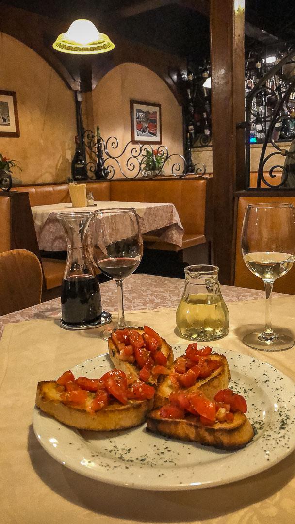 Rothenberg ob der tauber italian restaurant