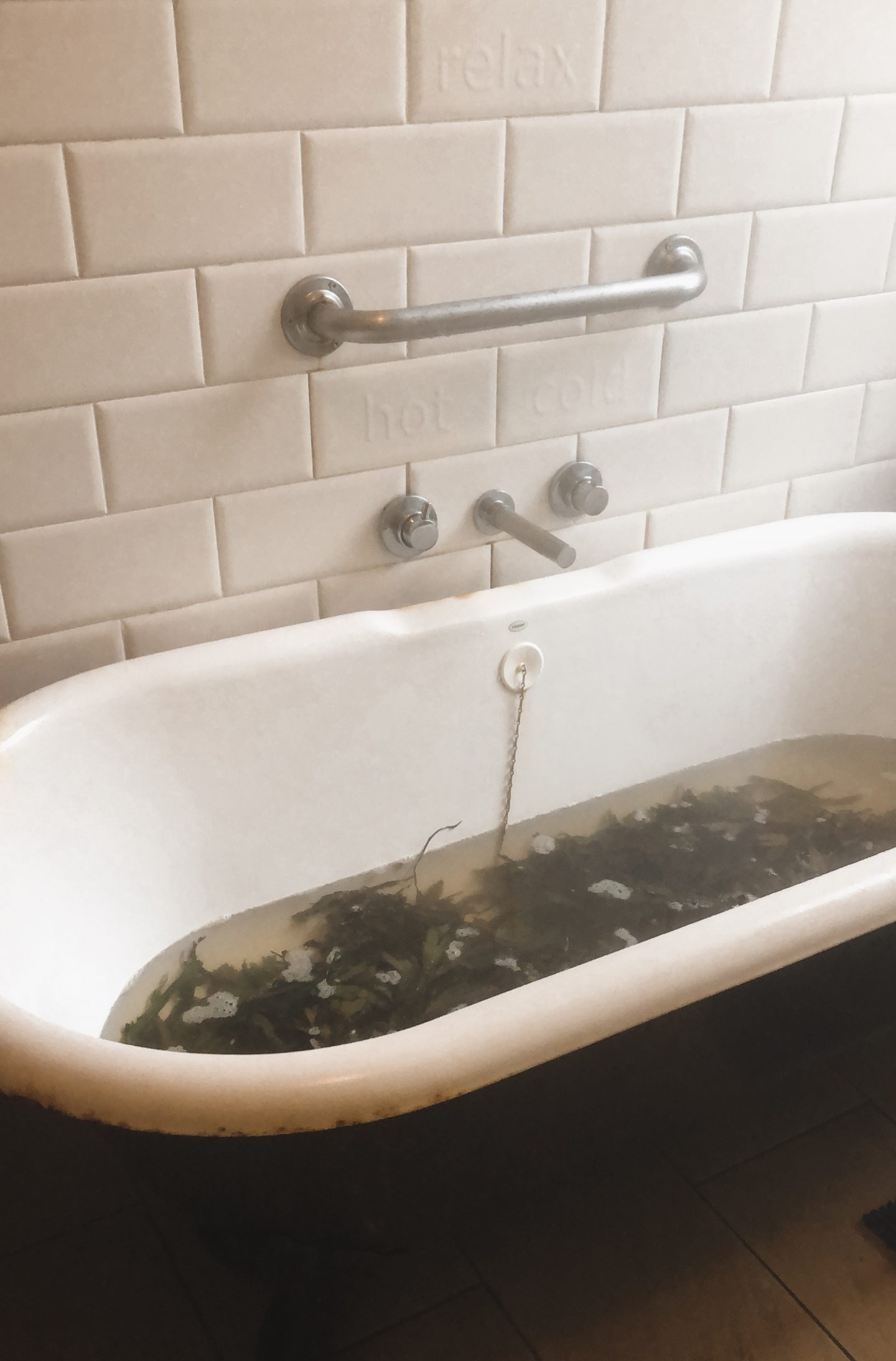 things to do in county down, soak seaweed bath
