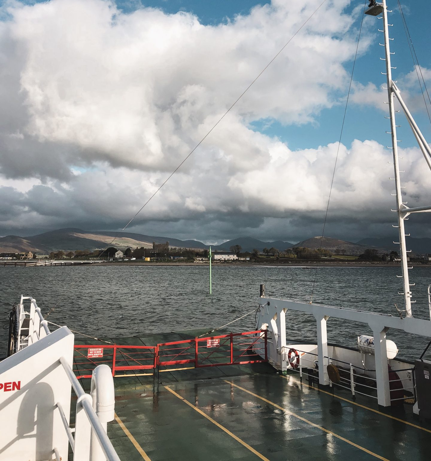 Carlingford lough ferry Greencastle