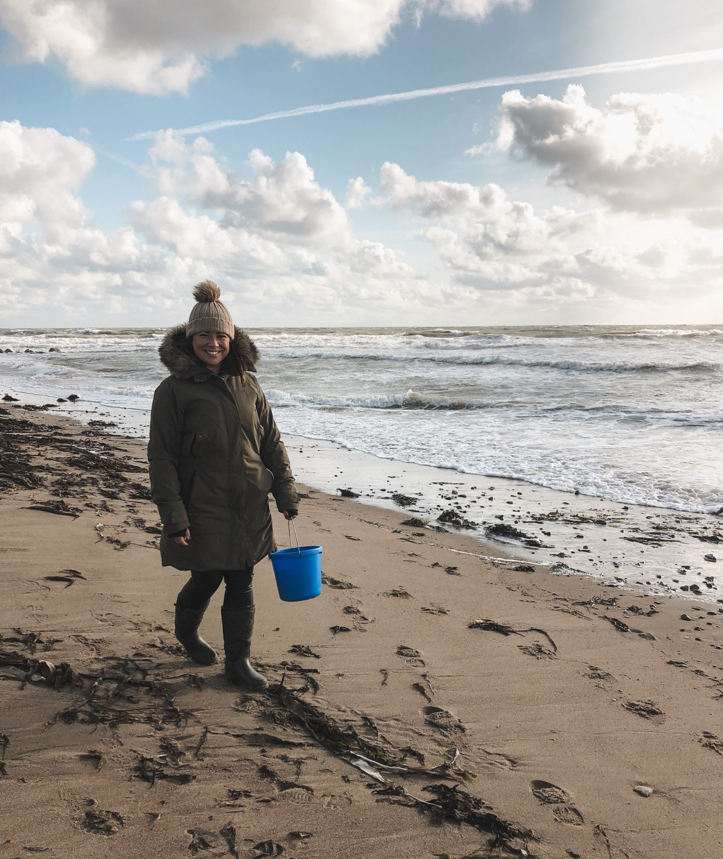 Things to do in County Down: Crawford's Rock Seaweed Co. Foraging on the beach