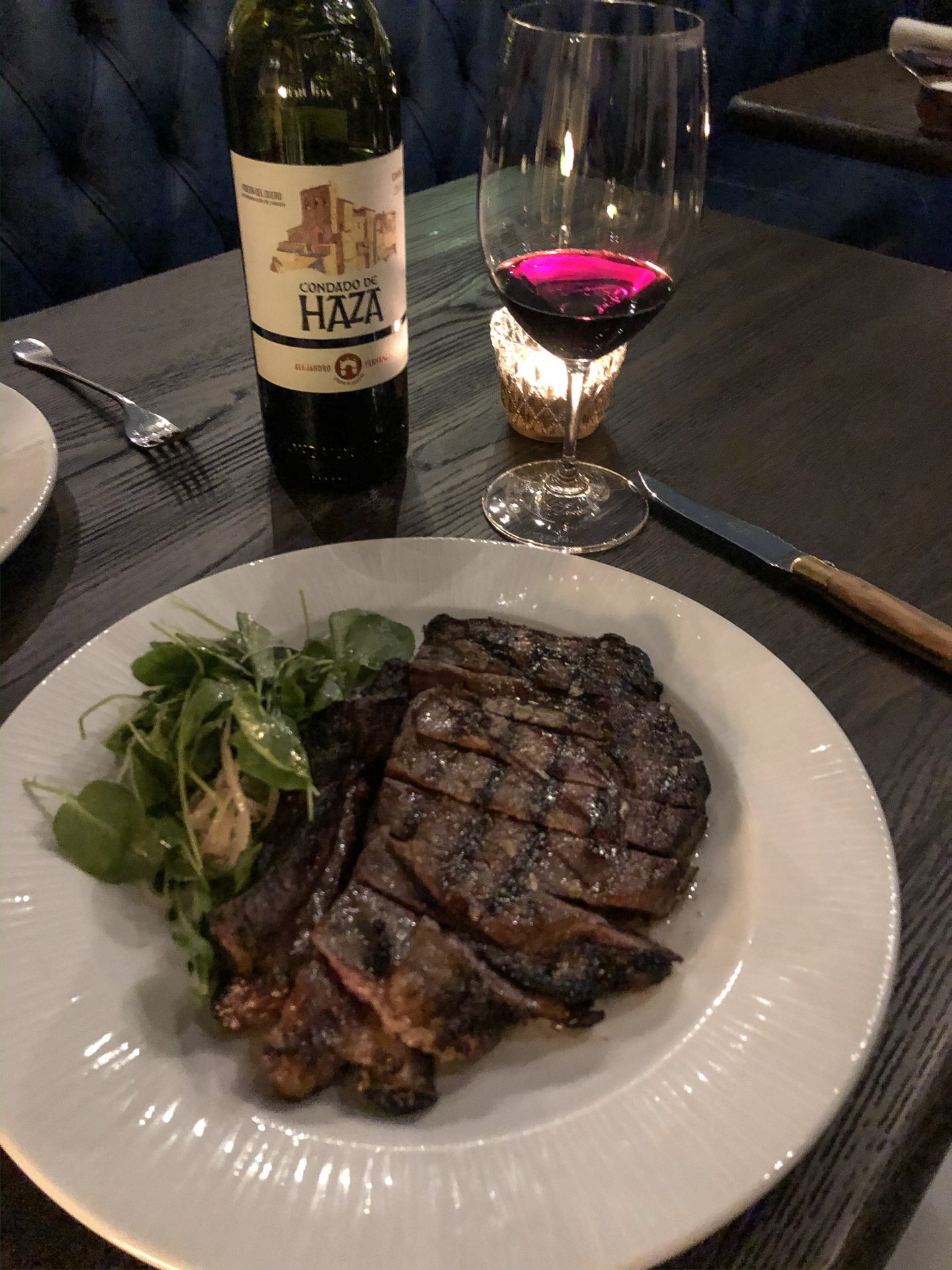 where to eat in county down Cote de boeuf at Overwood at Balloo