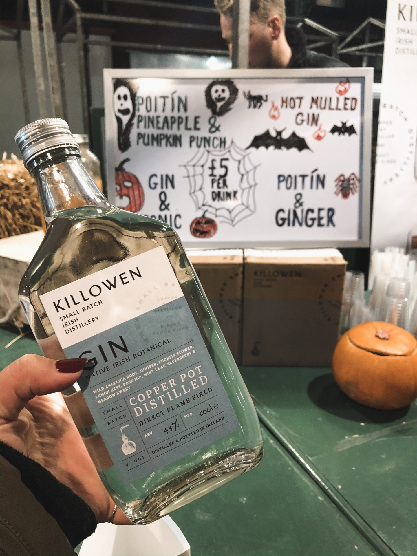 Killowen Distillery gin County Down