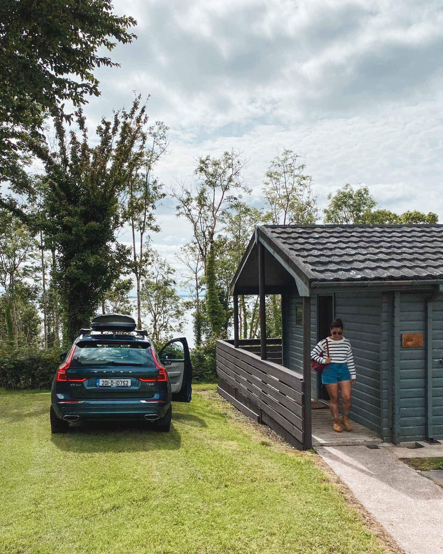 Volvo XC60 at Lusty Beg Island Resort